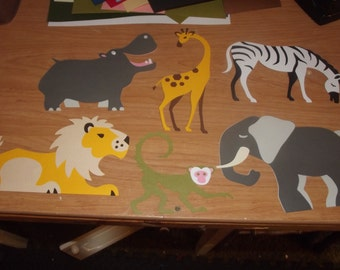 Safari animals- you choose which animal you want