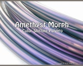 "SaLe! 26"" DOUBLES in 3/4"" OD Polypro Amethyst Morph. Push-Button Collapsible  // 20% off, Pre-Made AnD Ships NeXT DaY!"