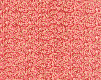 SUMMER SALE - 1 yards - Little Ruby -  Little Rosie in Red (55138-11) - Bonnie and Camille for Moda Fabrics