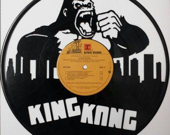 KING KONG vinyl silhouette