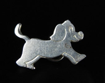 Charm, Sterling Silver, Dog , Animal Charm, Puppy Dog, Household Pet, 925 Silver, Signed GHS