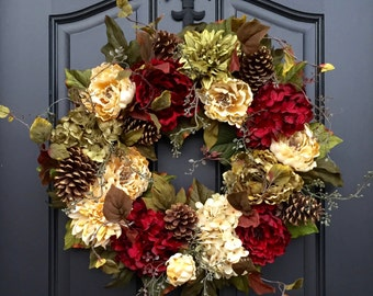 CHRISTMAS SALE Wreaths, Christmas Wreath, Holiday Wreath, Front Door Wreaths, Door Wreath, Christmas Wreaths, Seasonal Wreaths, Front Door D