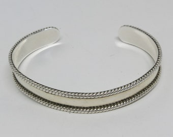 A Sterling Silver Cuff from Mexico