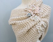 Bridal Shawl, handmade, shrug, bidesmaid gift,  wedding accessories,  Wedding Shawl, Bridal accessories, handmade shawl, knitting shawl,