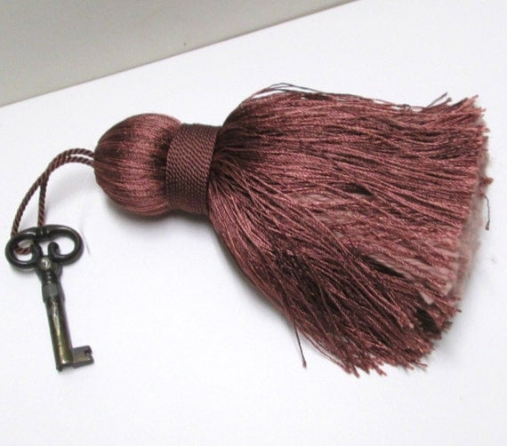 Large Tassels Home Decor: Jumbo TASSEL Furniture Key Fob Tassel Silky Large Bohemian