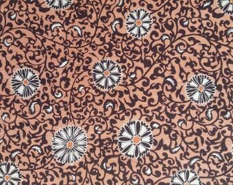 "KOFU - fabric from used Kimono,  Silk, Chirimen, Pink 12 5/8"" (32cm) X 57"" (145cm)"