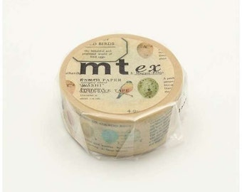 mt ex - eggs of wild birds - washi masking tape - 21mm x 10m x 1 roll