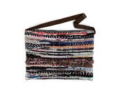 Kilim Crossbody Bag. Boho Messenger Bag. Boho Chic Style Kilim Shoulder Bag. Envelope Clutch. Womens Gift. Kourelou Bag. Colorful Sporty Bag