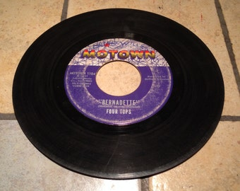 Bernadette/I Got A Feeling by The Four Tops Record by Motown Records