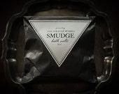 Smudge Bath Salts-  all natural white sage, peppermint, clary sage bath soak
