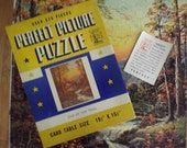 1940s Perfect Picture jigsaw puzzle End of the Trail - charity for animals