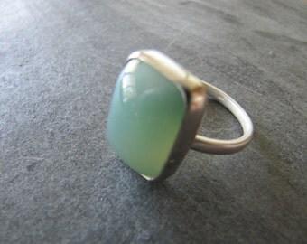 Luscious Mtorrolite Ring in Sterling Silver