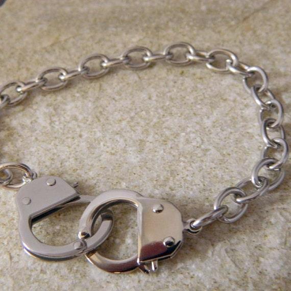 Ladies Stainless Steel Handcuff Bracelet