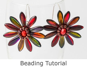 Beaded Flower Tutorial