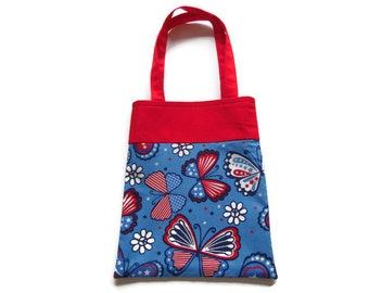Butterfly Gift Bag - Goodie Bag - Mini Tote