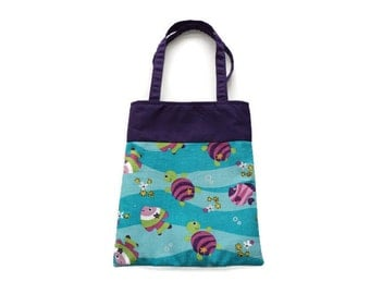 Fabric Gift/Goodie Bags - Fish and Turtles