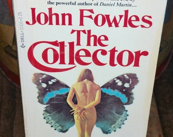 The Collector by John Fowles Vintage Paperback Book