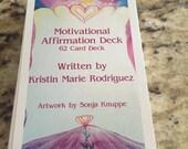 Motivational Affirmation 62 Card Deck