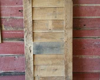 Sliding Barn Door with FREE SHIPPING
