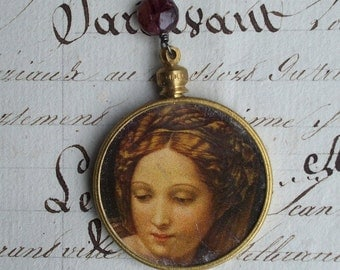 Lady Madonna- Vintage Assemblage Necklace