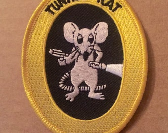 Authentic 1960s-70s Tunnel Rat Patch without Latin