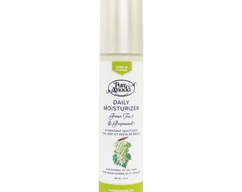 Daily Moisturizer - Green Tea & Grapeseed