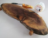 NATURAL Live Edged BLACK WALNUT serving board/sushi/cheese