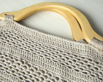 Cotton Crochet Bag
