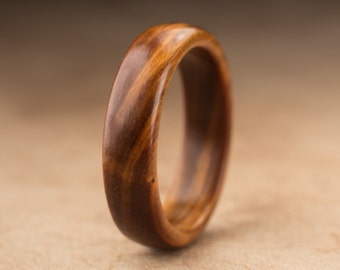 Size 9.75 - Guayacan Wood Ring No. 368