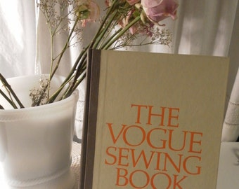 The Vogue Sewing Book vintage 1971 first edition