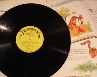 Walt Disney/ Winnie the Pooh and Tigger Too/ L.P. # 3813 / 1974