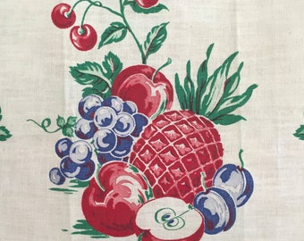 Startex Towel Fruits Table Runner Flowers