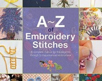 A-Z of Embroidery Stitches from Country Bumpkin