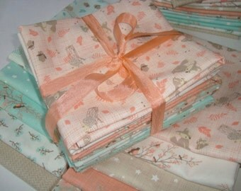 NEW Lullaby collection from Kate and Birdie Paper Co Fat Quarter set