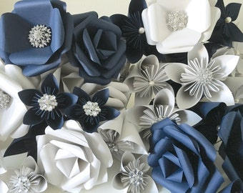 Priscilla Paper Flower Set
