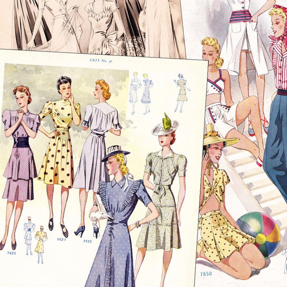 Iris Summer 1941 PDF - vintage sewing pattern catalog