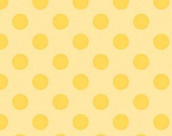 Flannel, Medium, Dot, Tone, On, Tone, Yellow, Riley, Blake, Designs, Medium, Dot, Baby, Boy, Girl, Unisex, Fabric, FREE, SHIPPING, to U.S.