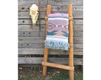 Ladder - Wood Ladder - Wooden Ladder - Southwestern Decor - Navajo Decor -Bohemian Decor - Decorative Ladder  - Boho Chic