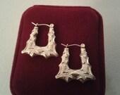 Earrings - Gold Colored Pierced Dangle Earrings