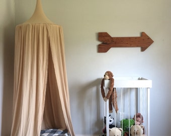 Play Canopy - Tan - Natural - Hanging Play Tent