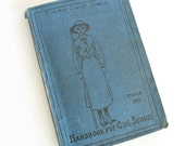 Antique Handbook for Girl Scouts How Girls Can Help Their Country 1917