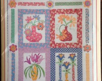 Sitting Pretty Quilt Wall Hanging Pattern by Cynthia Tomaszewski