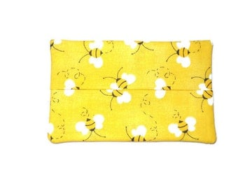 Fabric Tissue Holder - Bumble Bee's