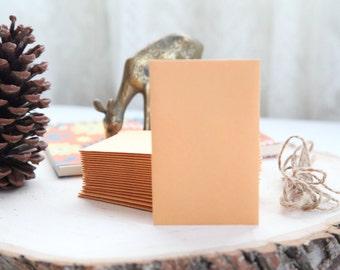 "25 Brown KRAFT Envelopes /// 2-1/2"" x 4-1/4"" /// SMALL"