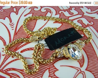 On Sale Monet Rock Necklace With Tag - Never Worn - Spring Fling Blingy Bling