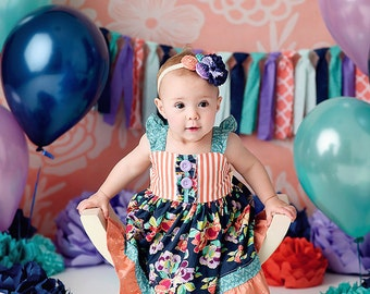 NEW-Girls Summer Dress- Little Liza - by Melon Monkeys - Summer 2016