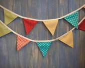 Small Classic Bunting. This is a lovely 3m strand perfect Children's bunting for parties and bedrooms.