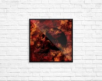 Ancestral Burn - Art Print 8x8
