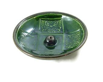 Incense Handmade Raku Pottery Faerie/Fairy