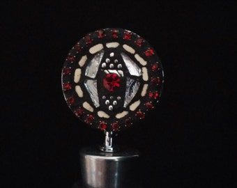 Red/Silver Wine Bottle Stopper